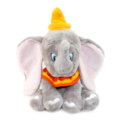 Peluche Dumbo éléphant assis Disney