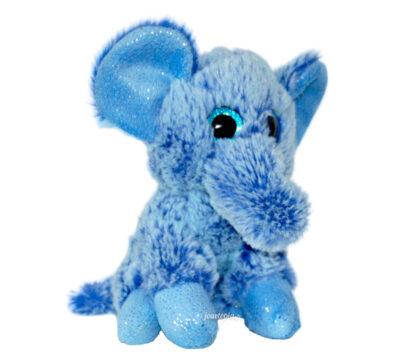 Peluche éléphant Funky Friends bleu