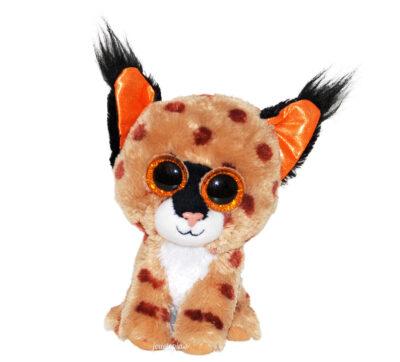 Peluche lynx Buckwheat - TY Beanie Boos