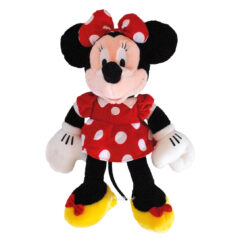 Peluche Minnie en robe rouge Disney
