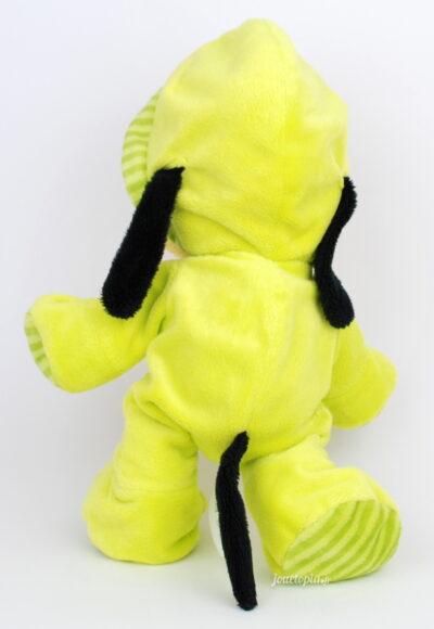 Peluche Pluto bébé en pyjama vert Disney