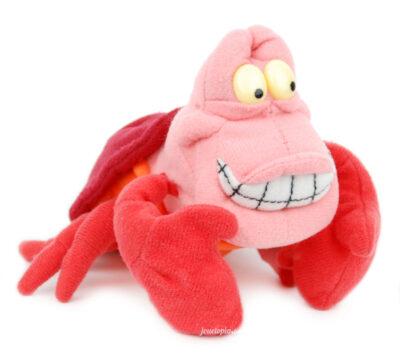 Peluche Sébastien (crabe de la Petite Sirène) - jemini