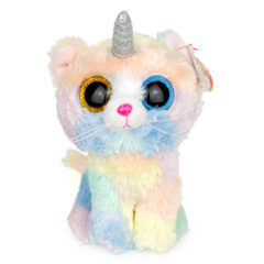 Peluche Ty Heather Chat Licorne