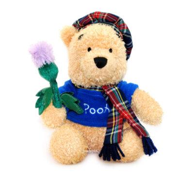 Winnie l'Ourson écossais St Andrews