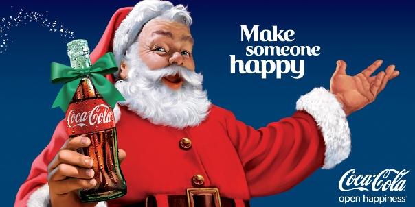 Le Père Noël de Coca-Cola
