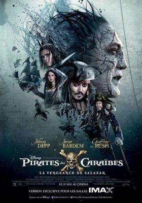 Pirates des Caraïbes 5 : La Vengeance de Salazar (affiche FR)