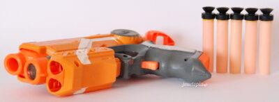 Pistolet laser Nerf N-Strike Elire avec cible et fléchettes