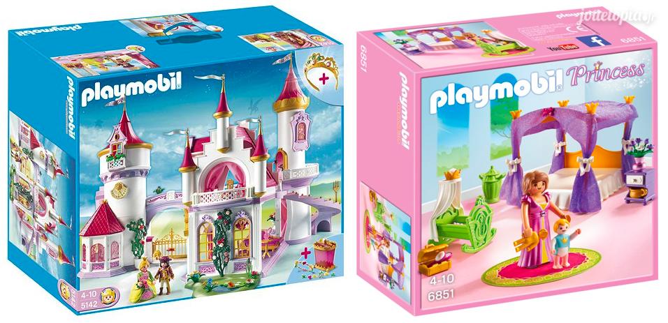 Les boites de Playmobil pour les filles