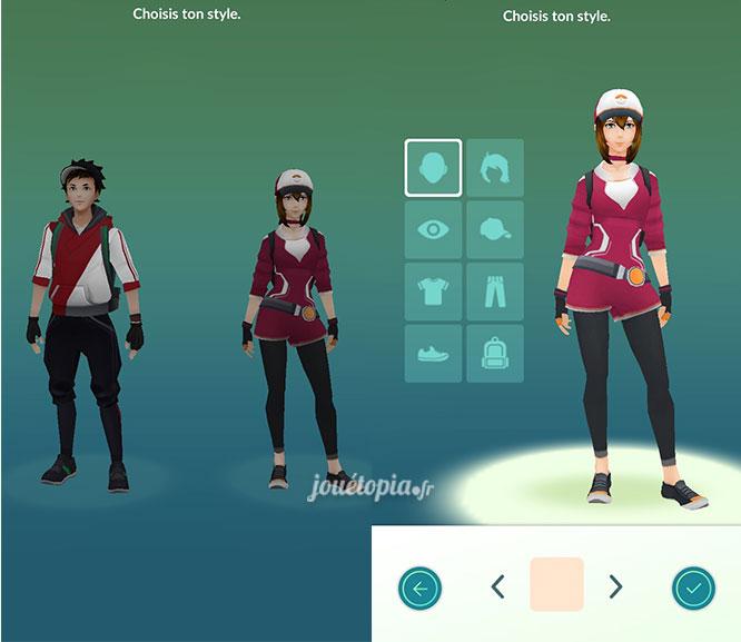 Pokémon GO : Choisis ton style