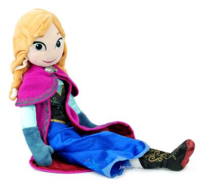 Grande poupée peluche Anna (La Reine des Neiges, Disney)
