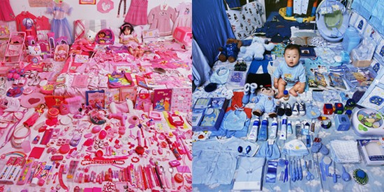 Rose ou Bleu dans le monde du jouet