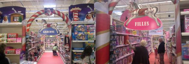 Préjugés dans les magasins de jouets