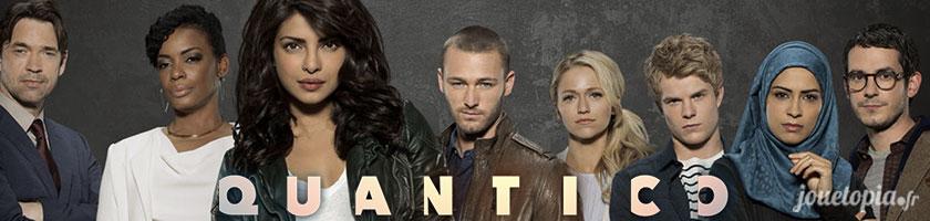 Quantico, la série TV évènement de cet été 2016