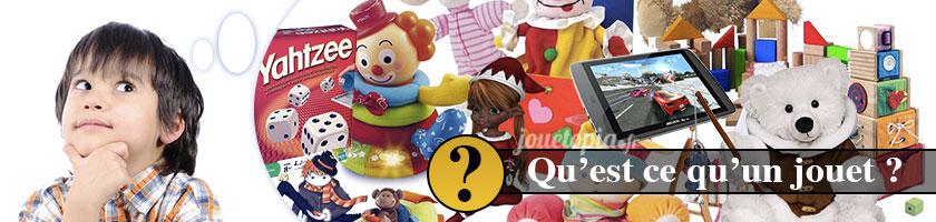 Qu'est-ce qu'un jouet ?