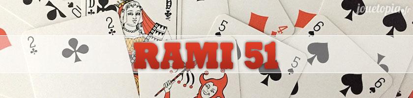 Comment jouer au Rami 51 (cartes) ?
