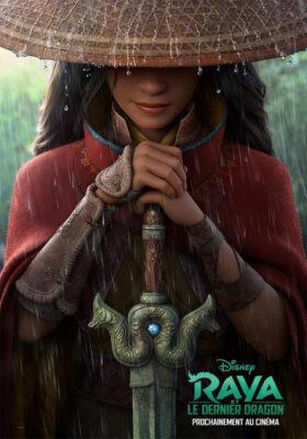 Affiche française du film Raya et le Dernier Dragon