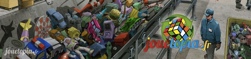 Recycler les jouets : le défi de Jouétopia !