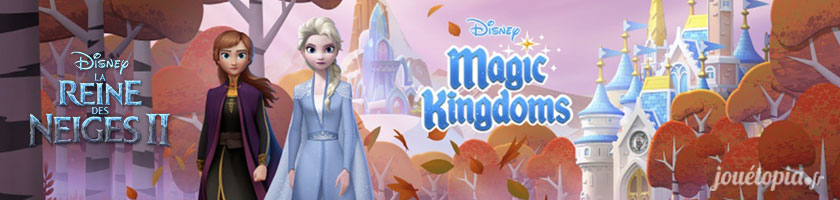 La Reine des Neiges 2 - Disney Magic Kingdoms