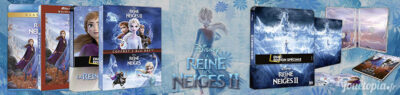 La Reine des Neiges 2 en DVD et Blu-Ray