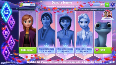 La Reine des Neiges 2 (Disney Magic Kingdoms)