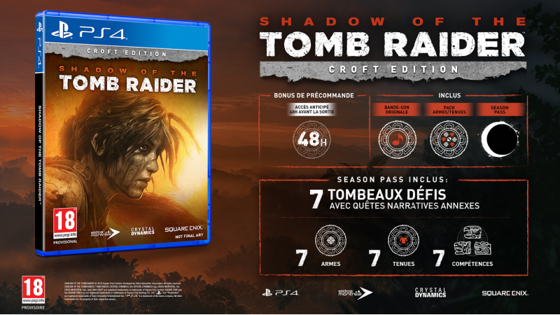 Sandow of the Tomb Raider : Croft Edition