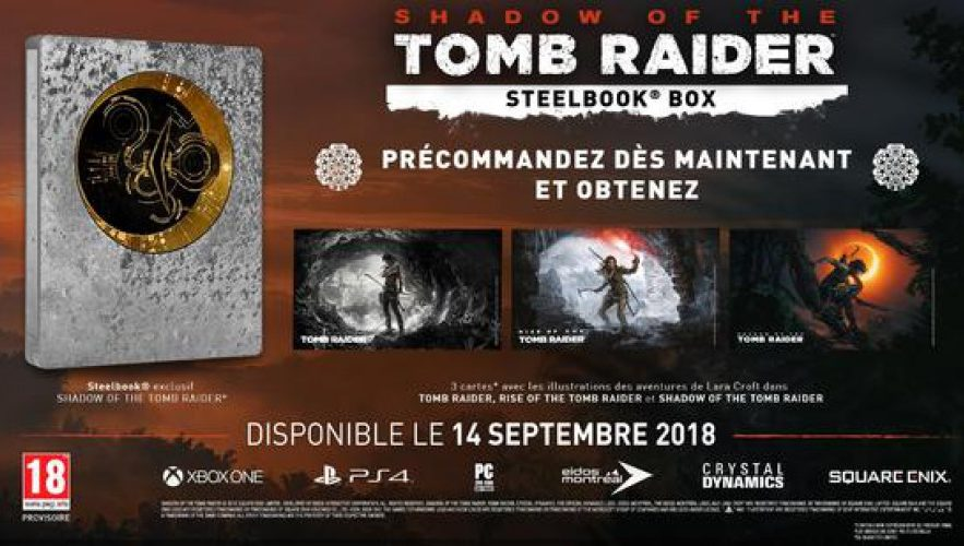 Shadow of the Tomb Raider : Steenbok Box Edition