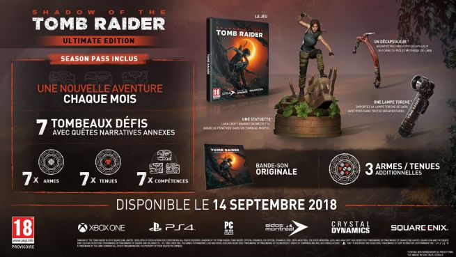 Sandow of the Tomb Raider, Ultimate Edition