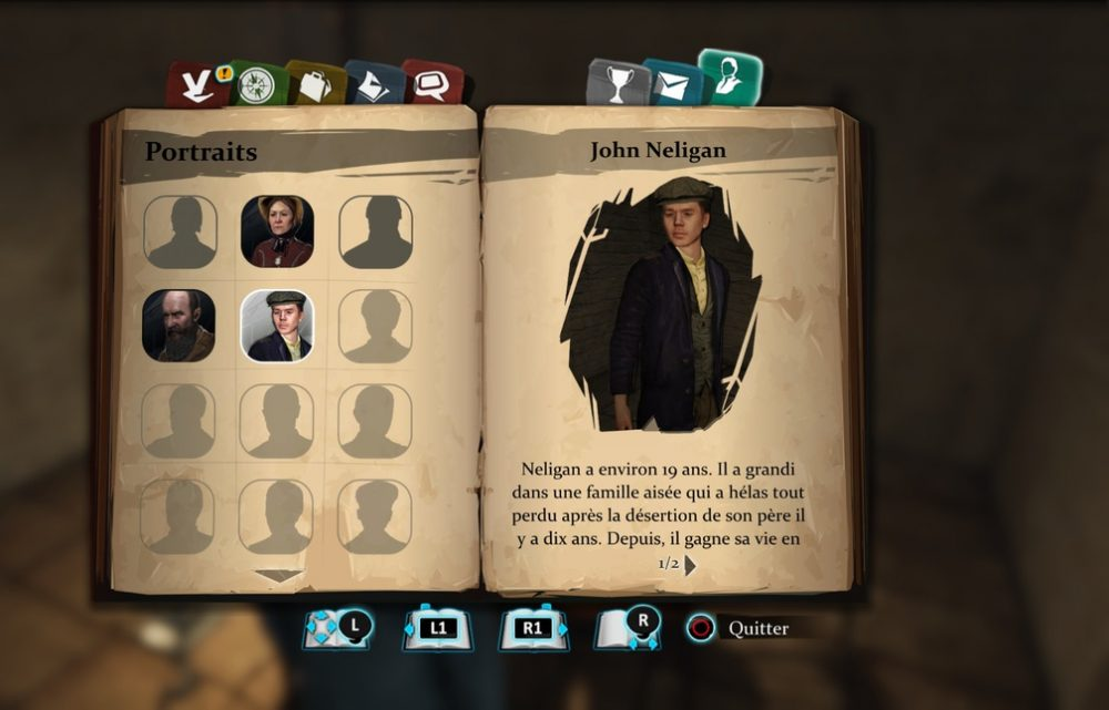 Sherlock Holmes : Crimes & Puisements : carnet de notes