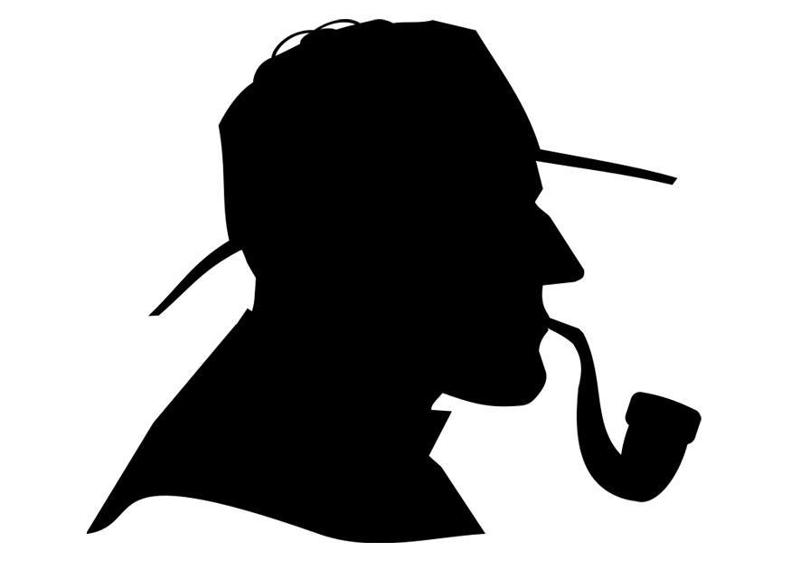 Sherlock Holmes : silhouette