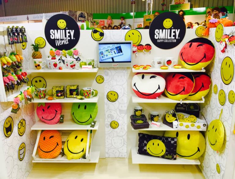 Produits dérivés autour du Smiley