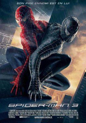 Spider-Man 3 (Marvel, affiche du film)