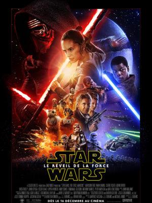 Star Wars VII Le Réveil de la Force (affiche FR)