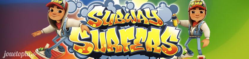 Subway Surfers : Surfez sur les rails et les trains
