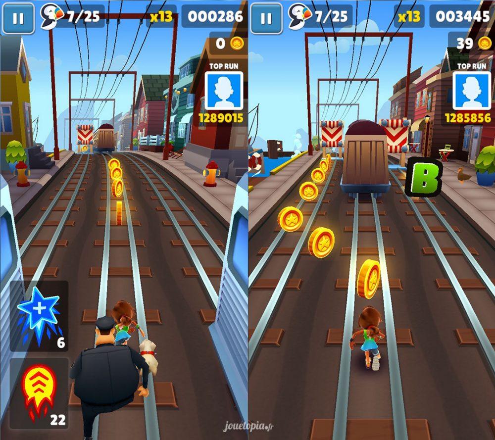 Subway Surfers : Gameplay