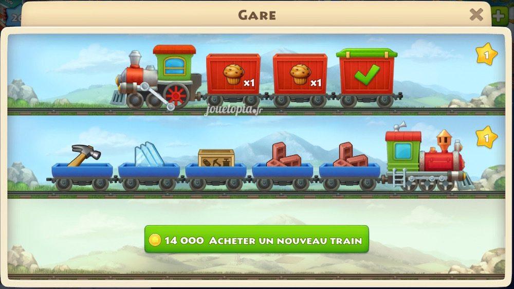 Trains de Township
