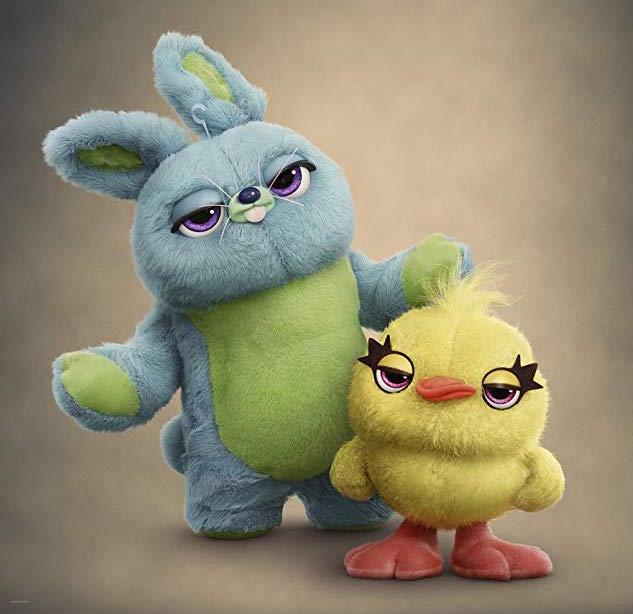 Bunny et Ducky (nouveaux personnages de Toy Story 4)