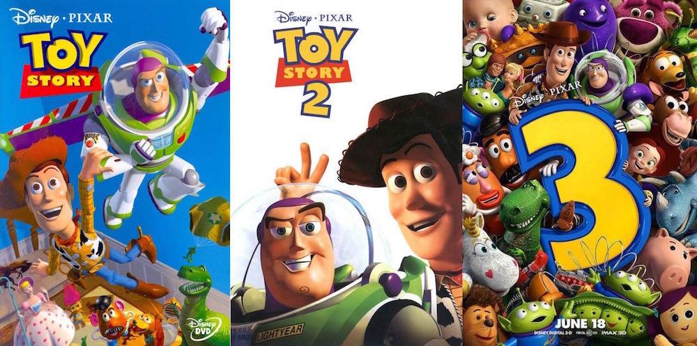Trilogie Toy Story