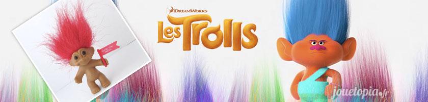 Les Trolls débarquent dans un film d'animation !