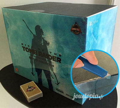 Unboxing Collector : Rise of Tomb Raider