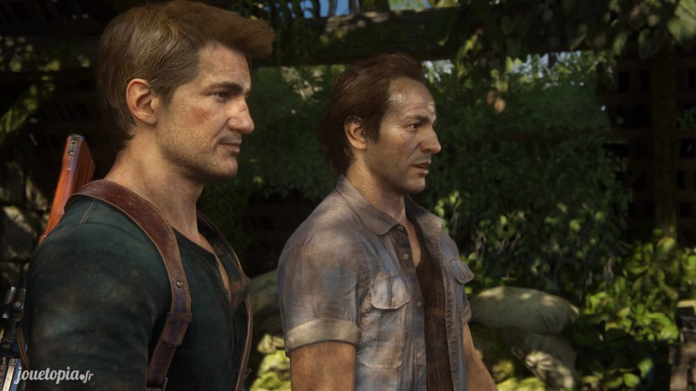 Nathan et Sam dans Uncharted™ 4 : A Thief's End