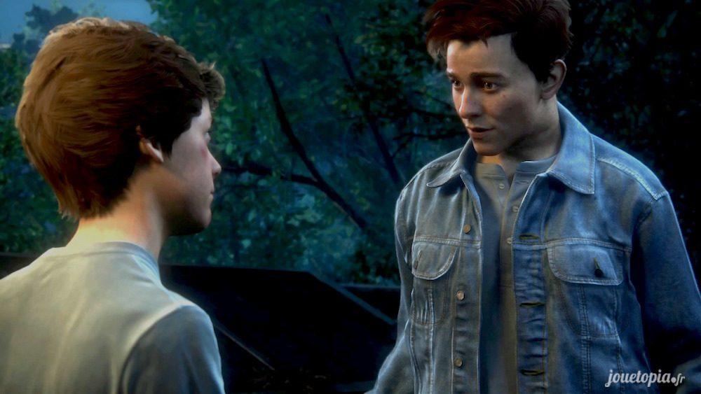 Deux jeunes frères dans Uncharted™ 4 : A Thief's End