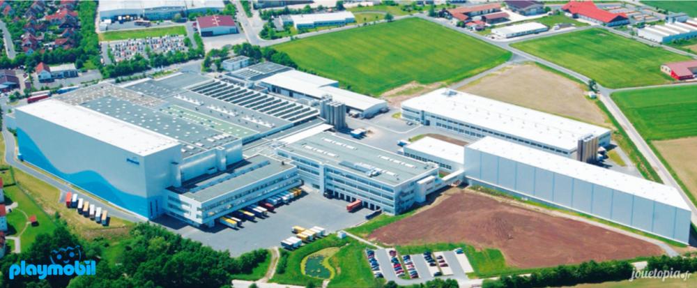 Usine Playmobil en Allemagne