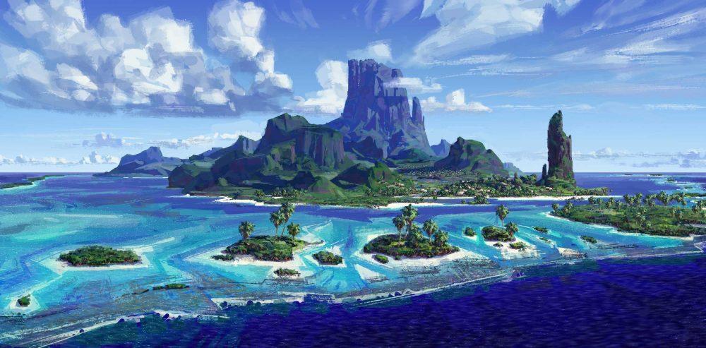 L'île de Motu Nui (Vaiana)