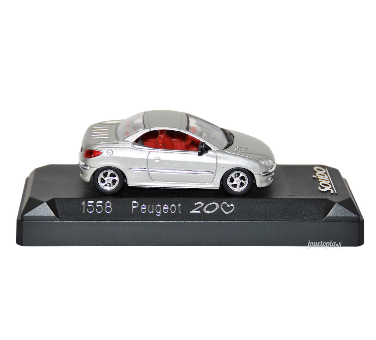 petite voiture peugeot 206 cc miniature solido 1 43 jou topia. Black Bedroom Furniture Sets. Home Design Ideas