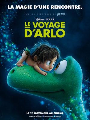 Le Voyage d'Arlo (Disney/Pixar - affiche FR)