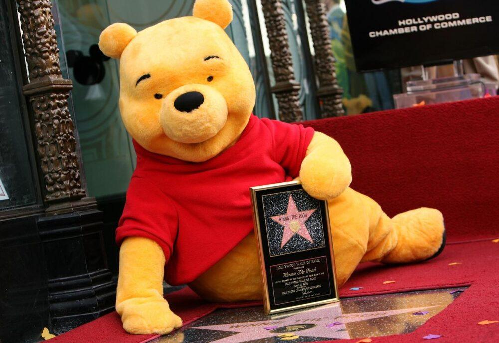 Winnie l'ourson Star d'Hollywood